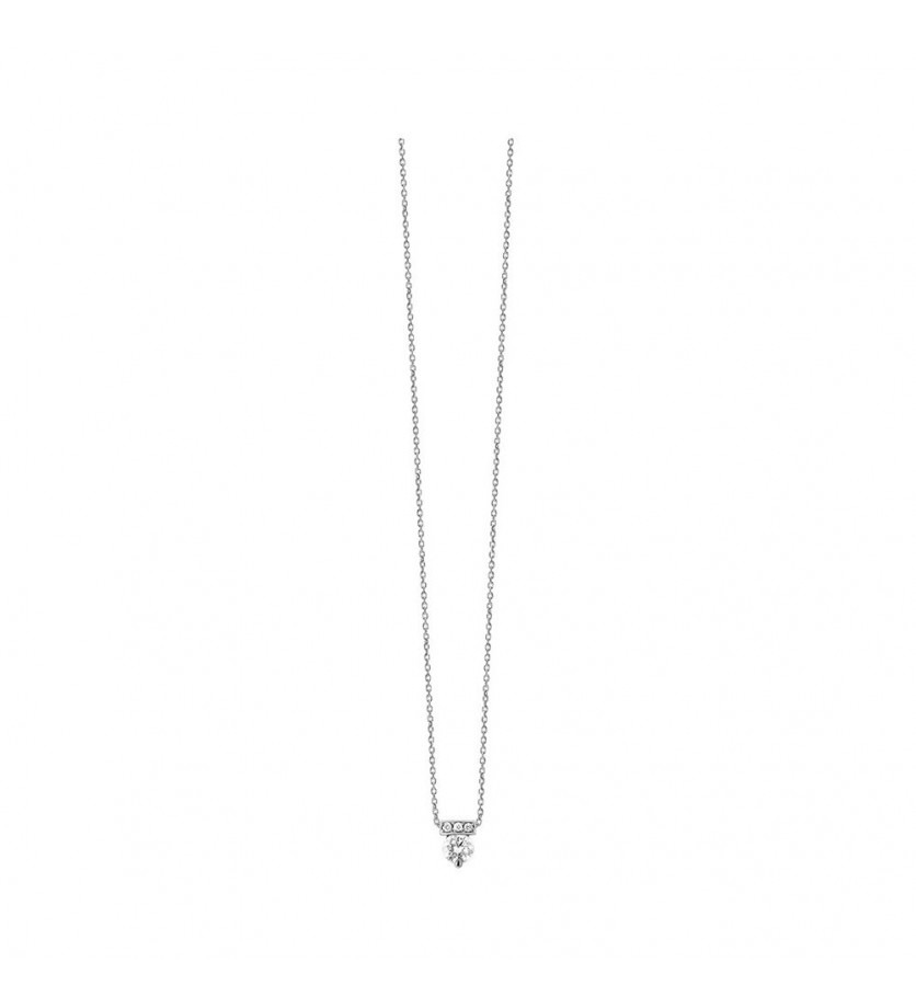 FROJO Pendentif or rose diamant 0,17ct