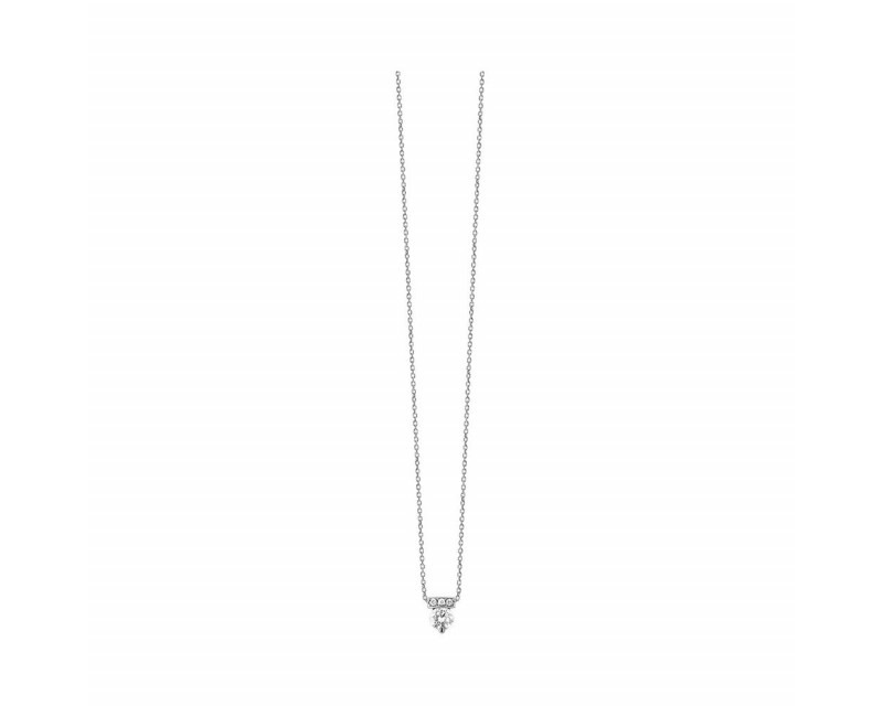 FROJO Pendentif or rose diamant 0,17ct