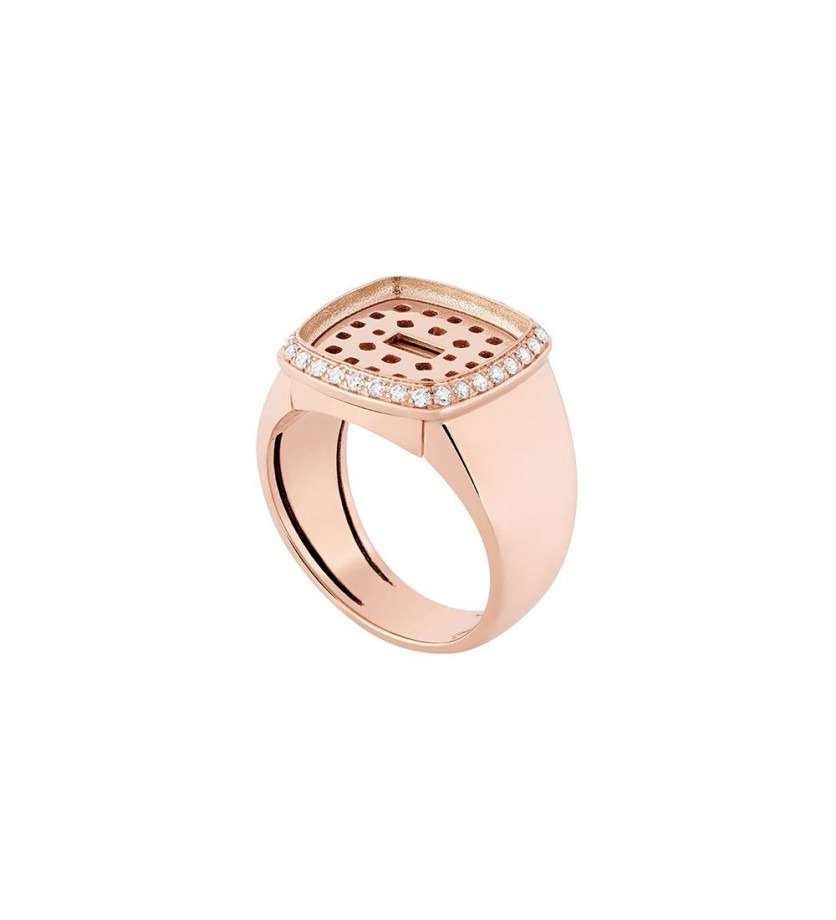 FRED Monture Pain de Sucre MM or rose diamants
