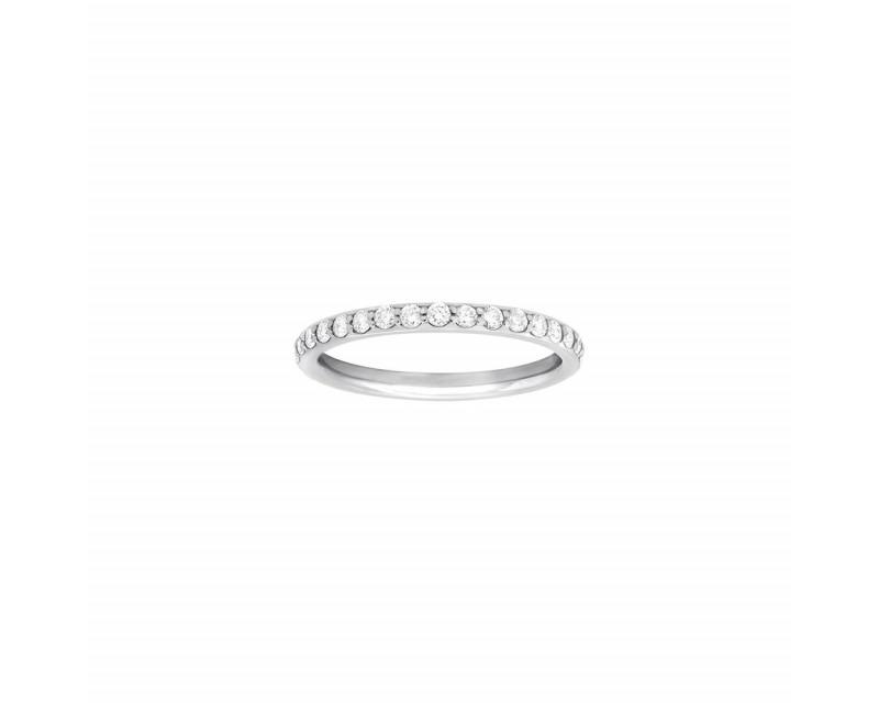 FROJO Alliance tour complet or gris diamant 0,60ct