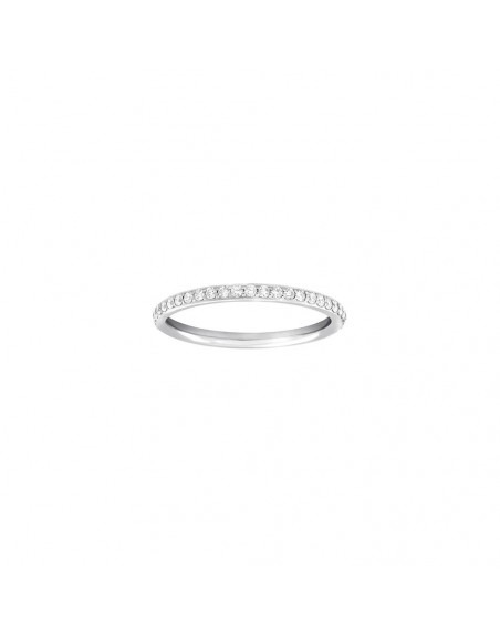 Alliance tour complet or rose diamant 0,40ct GSI
