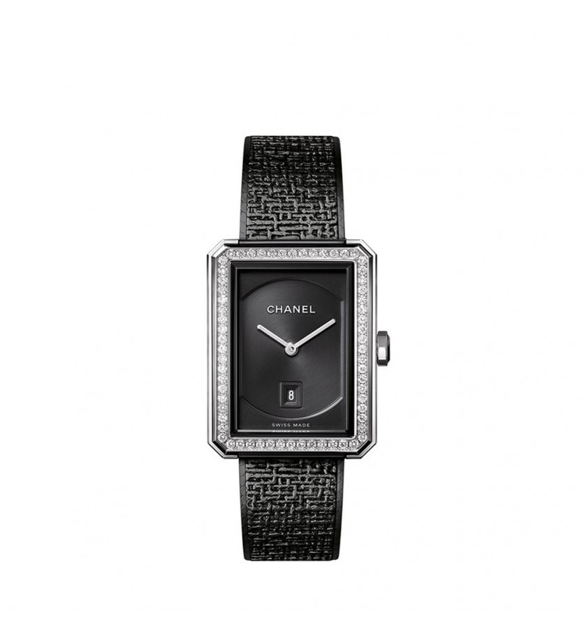 Montre CHANEL Première Boy Friend Tweed Black