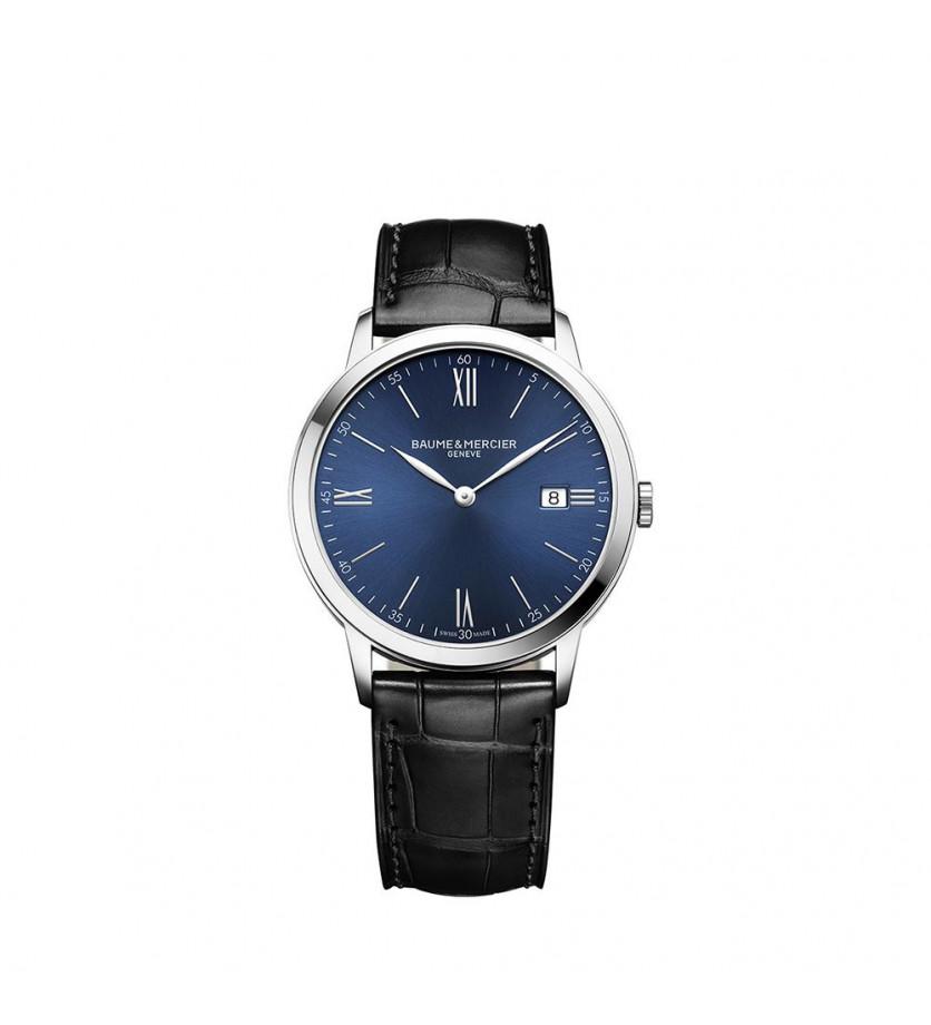 Montre Classima 10324 40mm Quartz Acier Bracelet Veau noir