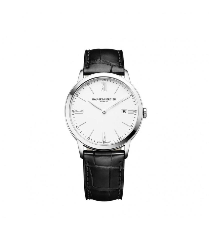 Montre Classima 10323 40mm Quartz Acier Bracelet Veau noir