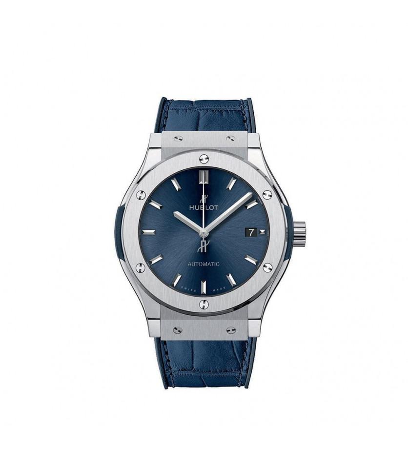 Montre Classic Fusion Blue Titanium 45 mm