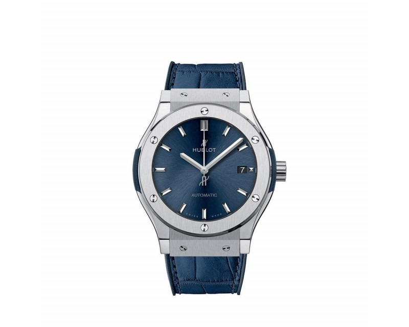 Montre  Classic Fusion Blue Titanium Automatique Titane