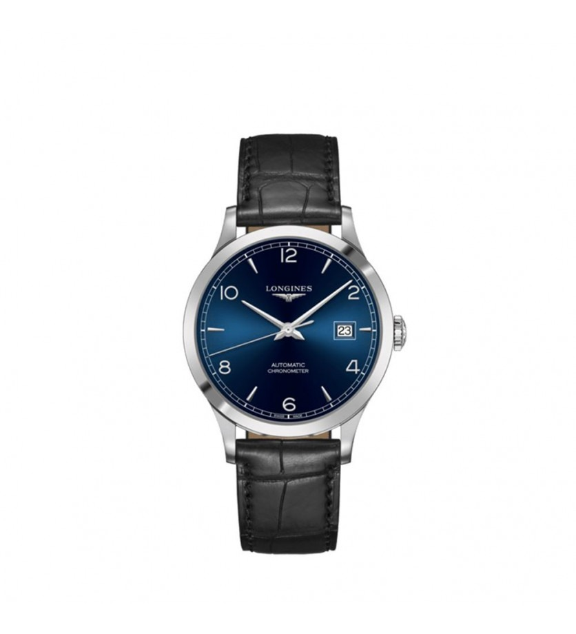 Montre LONGINES Collection Record Automatique Acier