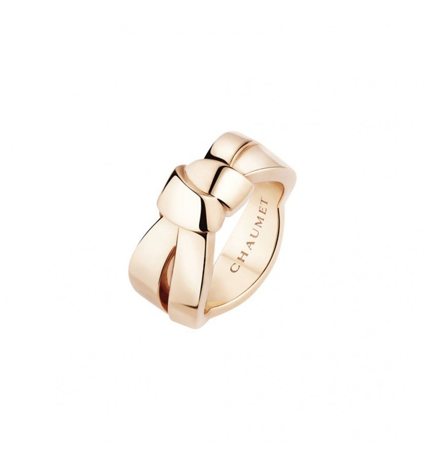 CHAUMET Bague Liens Seduction GM or rose