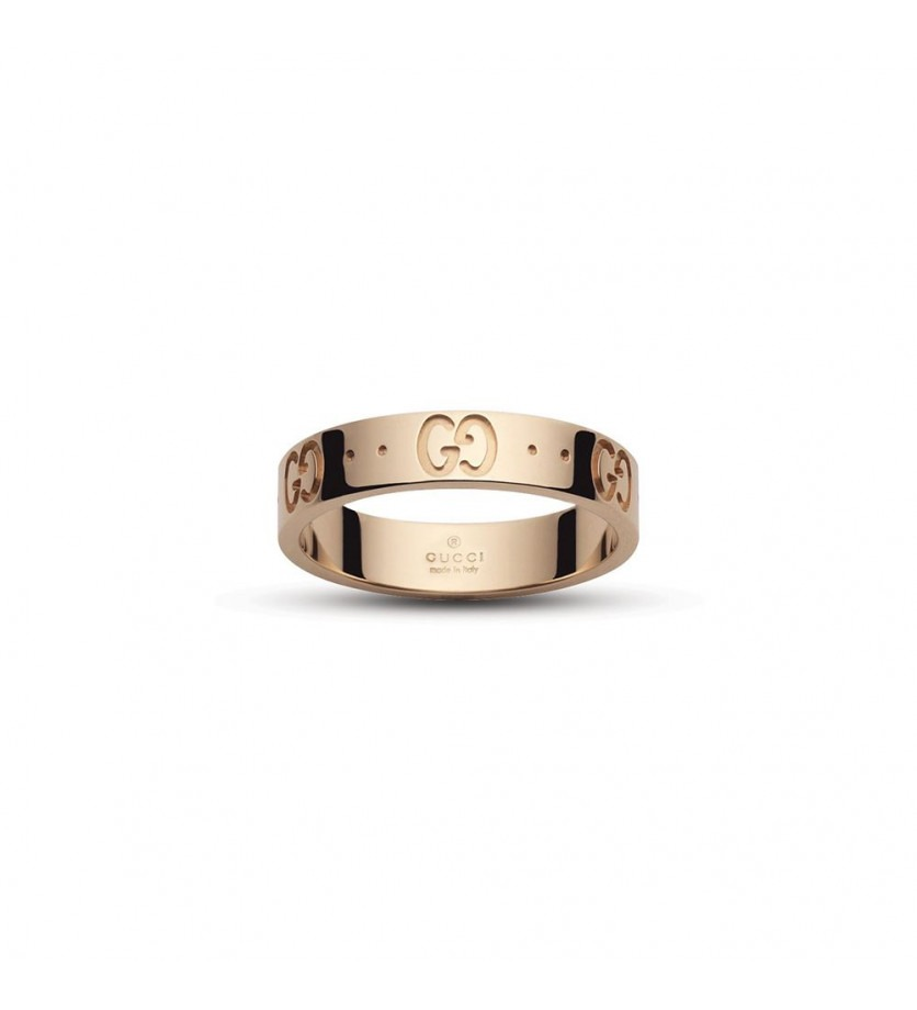 Bague Icon or rose fine