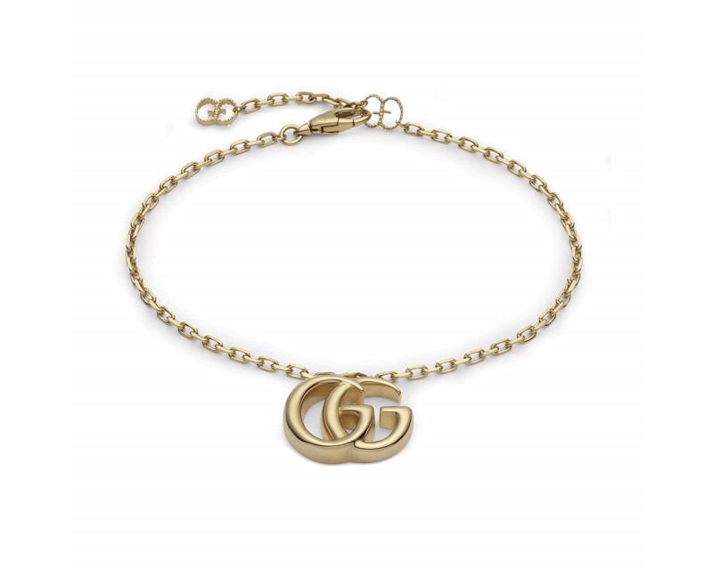 GUCCI Bracelet Running G charm GG or jaune