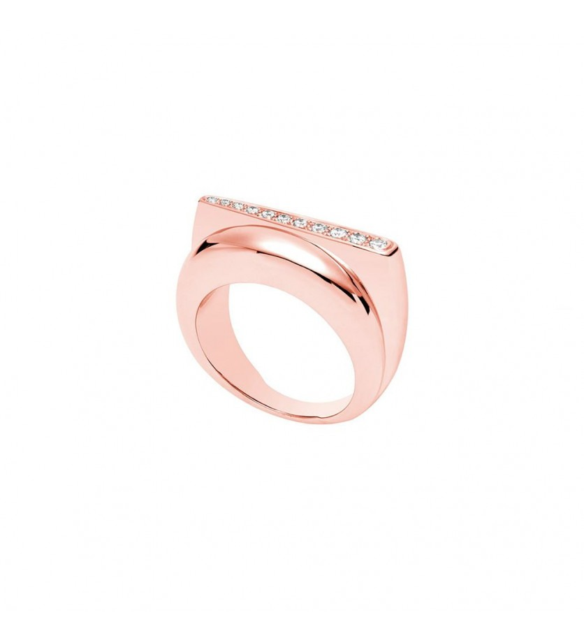 Bague Success PM or rose diamants