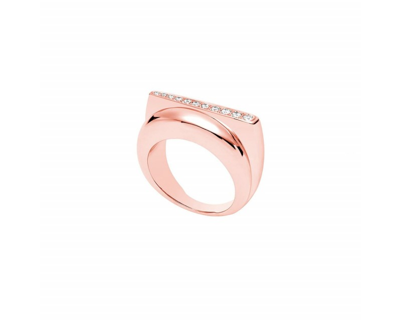 FRED Bague Success PM or rose diamants