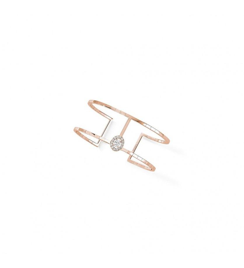 Bracelet Glam' Azone Skinny or rose diamants
