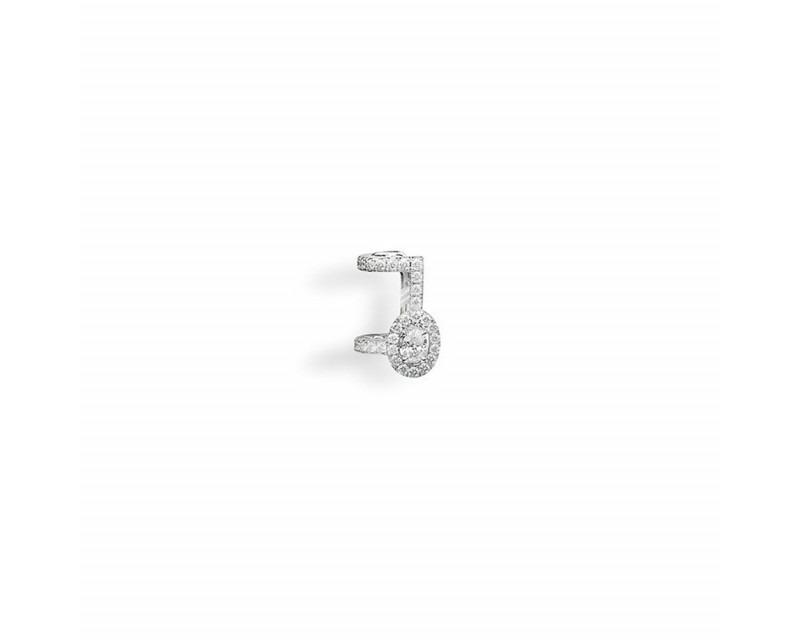 Boucles d'oreille Glam'Azone pavées diamants