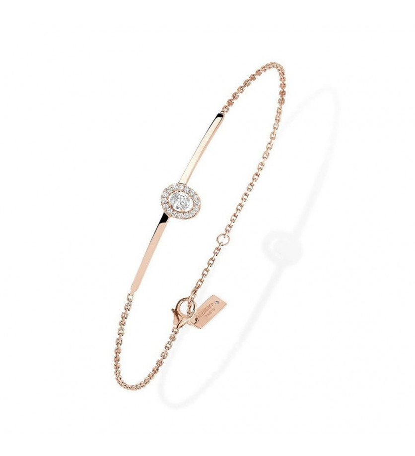 MESSIKA Bracelet Glam'Azone or rose diamants