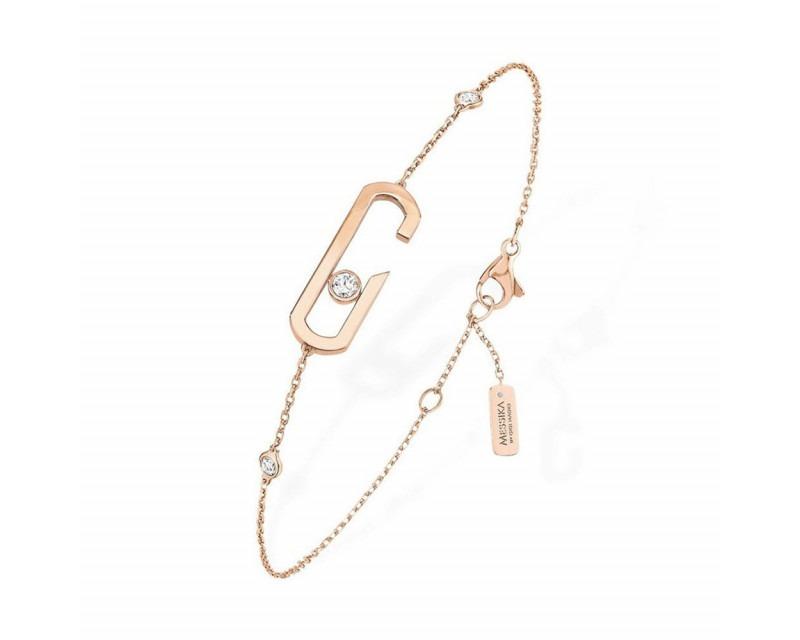 MESSIKA Bracelet Move Addiction or rose diamants