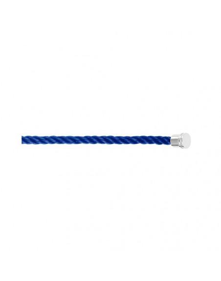 Câble Force 10 MM corderie bleu indigo embouts acier