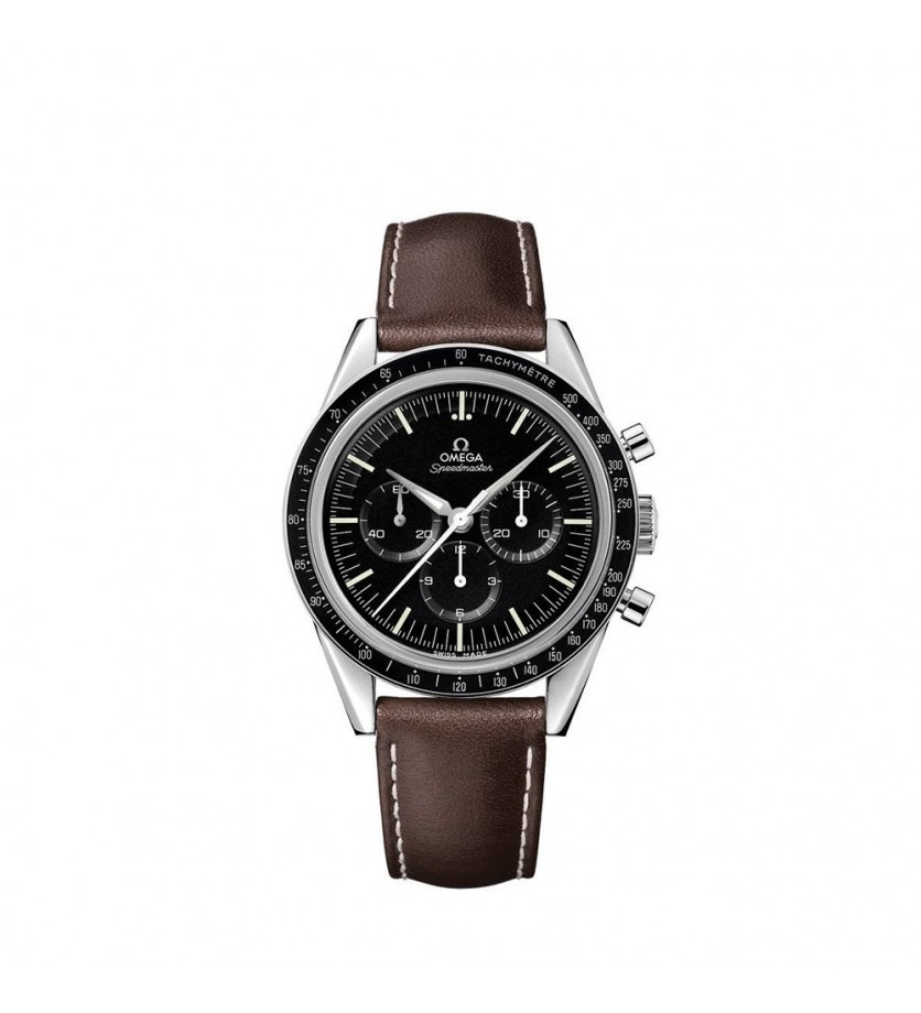 Montre Speedmaster Moonwatch « The First Omega in Space » Chronographe Automatique Acier