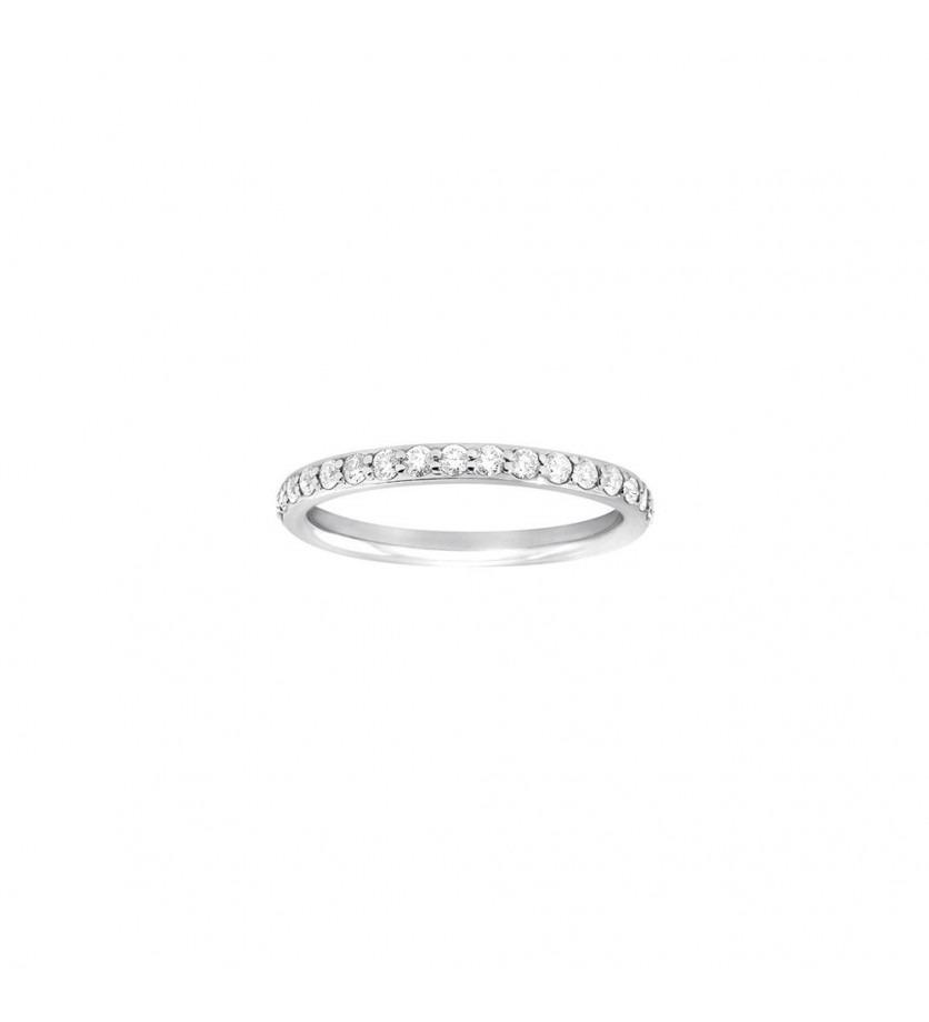 FROJO Alliance tour complet or gris diamants 0,80ct