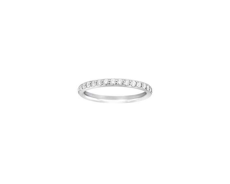 FROJO Alliance tour complet or gris diamants 0,80ct