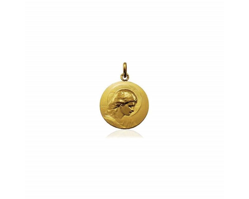 ARTHUS BERTRAND Médaille Jesus Adolescent or jaune 18mm