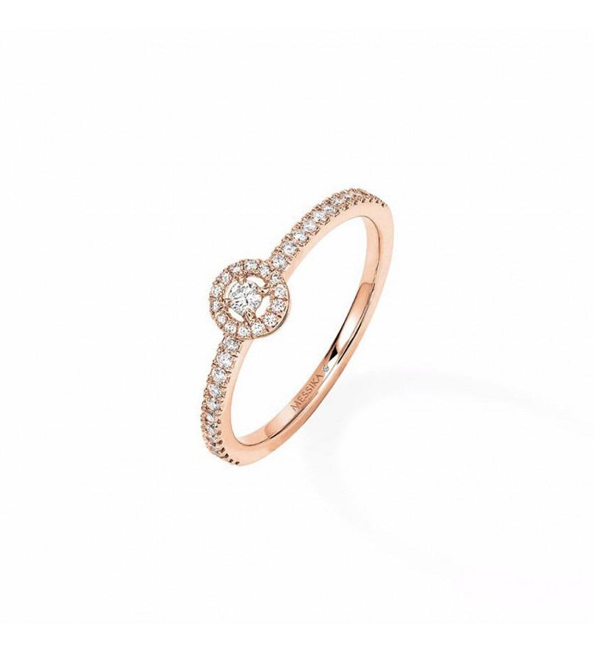 MESSIKA Bague Joy XS or rose diamants