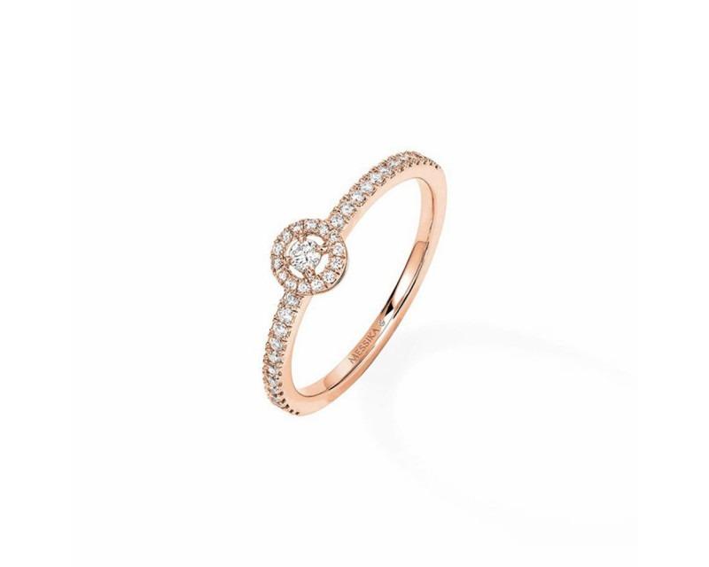 Bague Joy XS or rose diamants