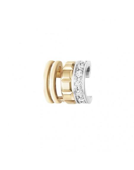 Boucheron clip d'oreille mini bague quatre radiant edition