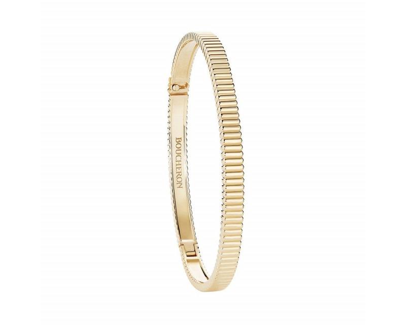 Bracelet Quatre Grosgrain or jaune