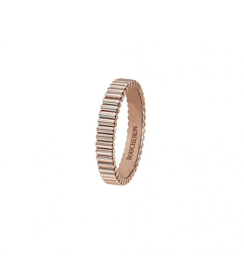 BOUCHERON Alliance Quatre Radiant Edition Grosgrain or rose