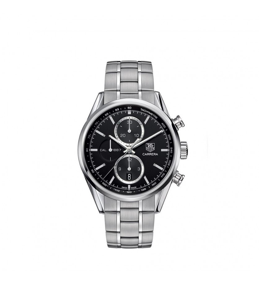 TAG HEUER Montre Carrera Chronographe Automatique Acier