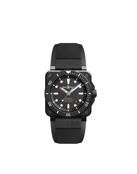 Montre BELL & ROSS BR0392 Diver Black Matte