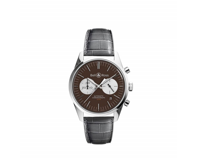 Montre BELL & ROSS BRG126 Officer Brown
