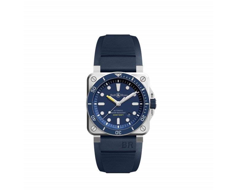 Montre BELL & ROSS BR0392 Diver Blue