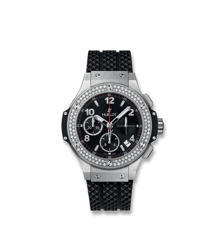 Montre HUBLOT Big Bang Steel Diamonds 41 mm