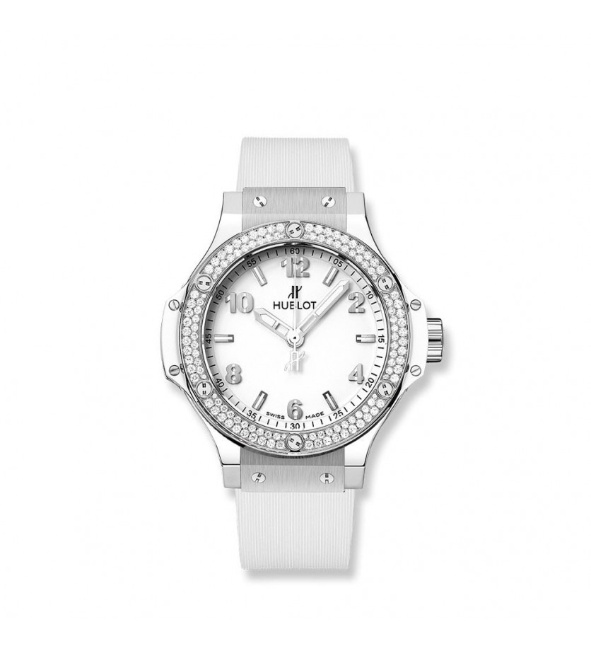 Montre HUBLOT Big Bang Steel White Diamonds 38 mm