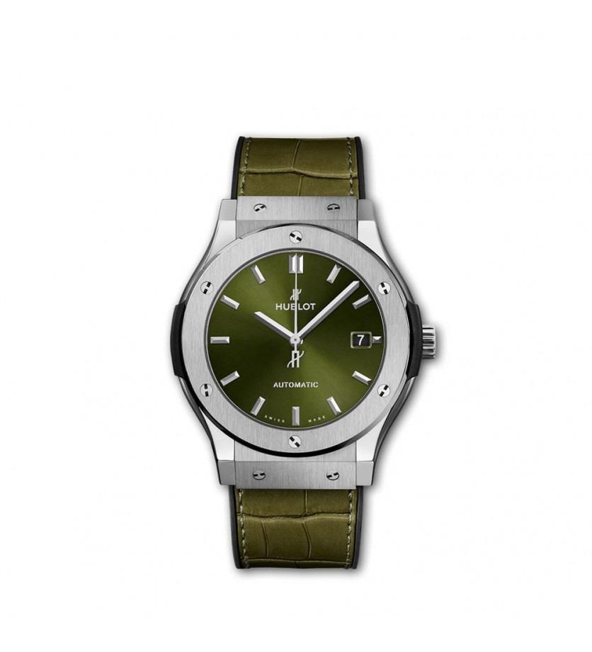 Montre Classic Fusion Titanium Green 45 mm