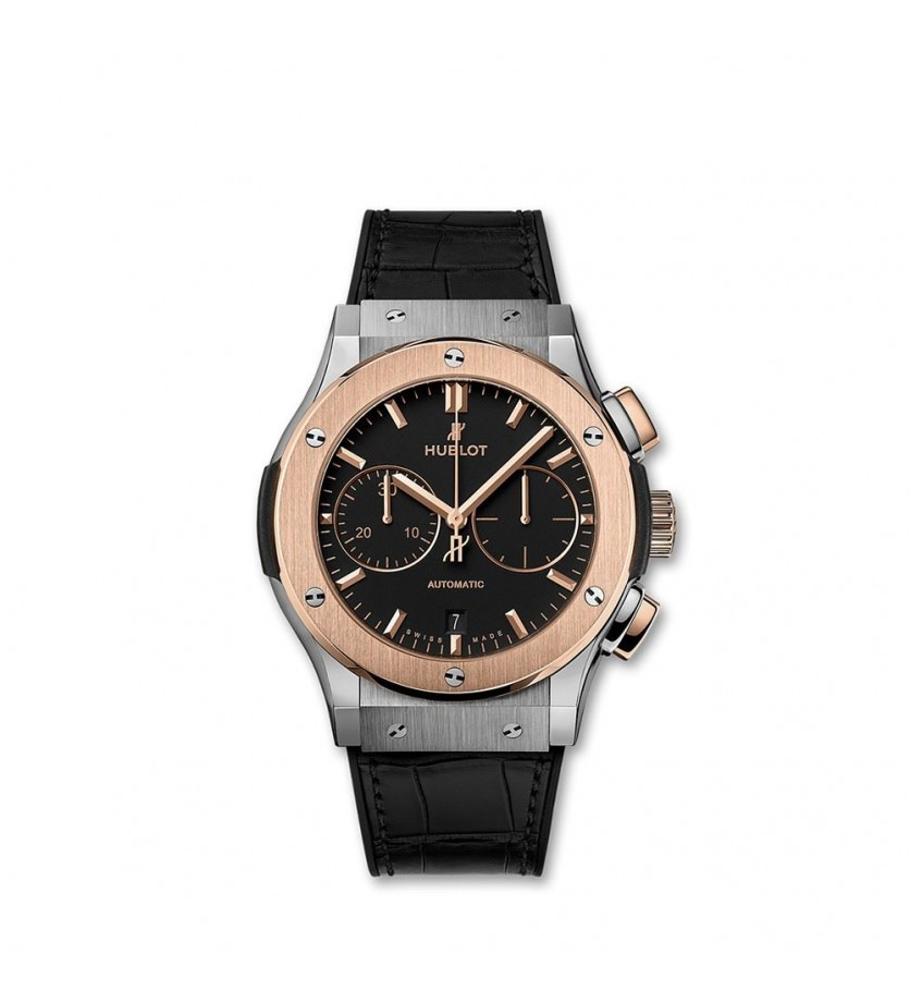 Montre HUBLOT Classic Fusion Chronograph Titanium King Gold 45 mm