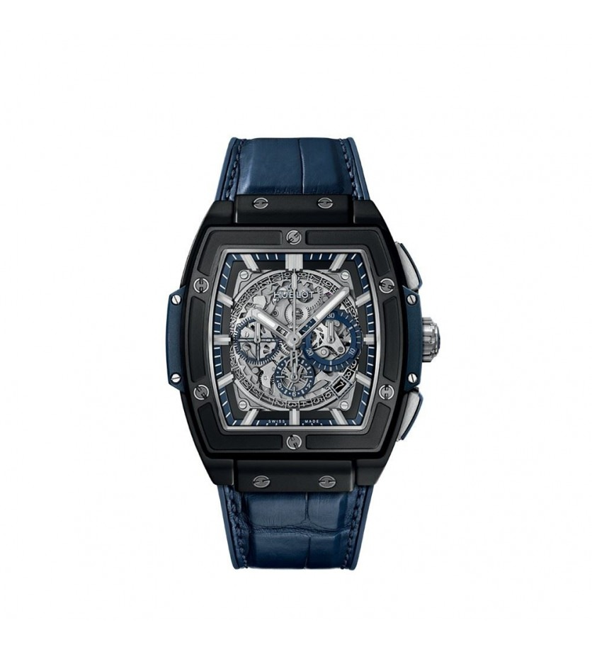 Montre HUBLOT Spirit of Big Bang Ceramic Blue 45 mm