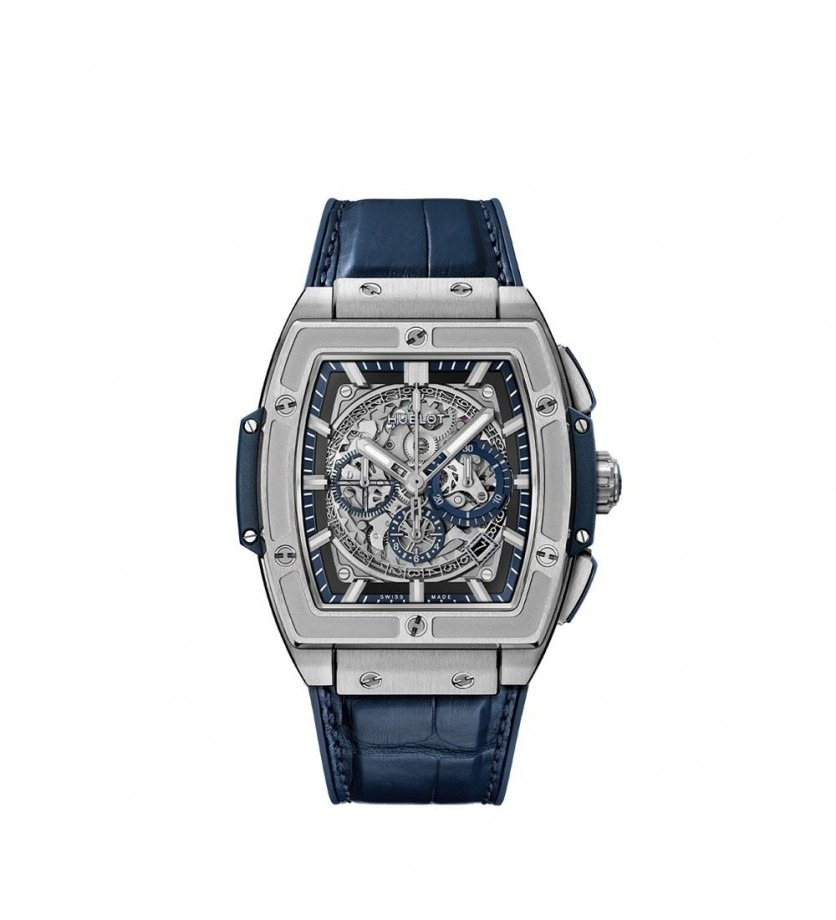 Montre HUBLOT Spirit of Big Bang Titanium Blue 45 mm