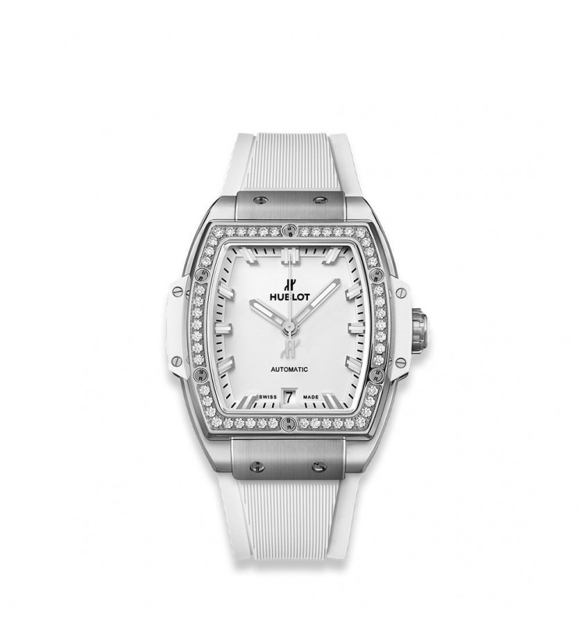 Montre HUBLOT Spirit of Big Bang Titanium White Diamonds 39 mm