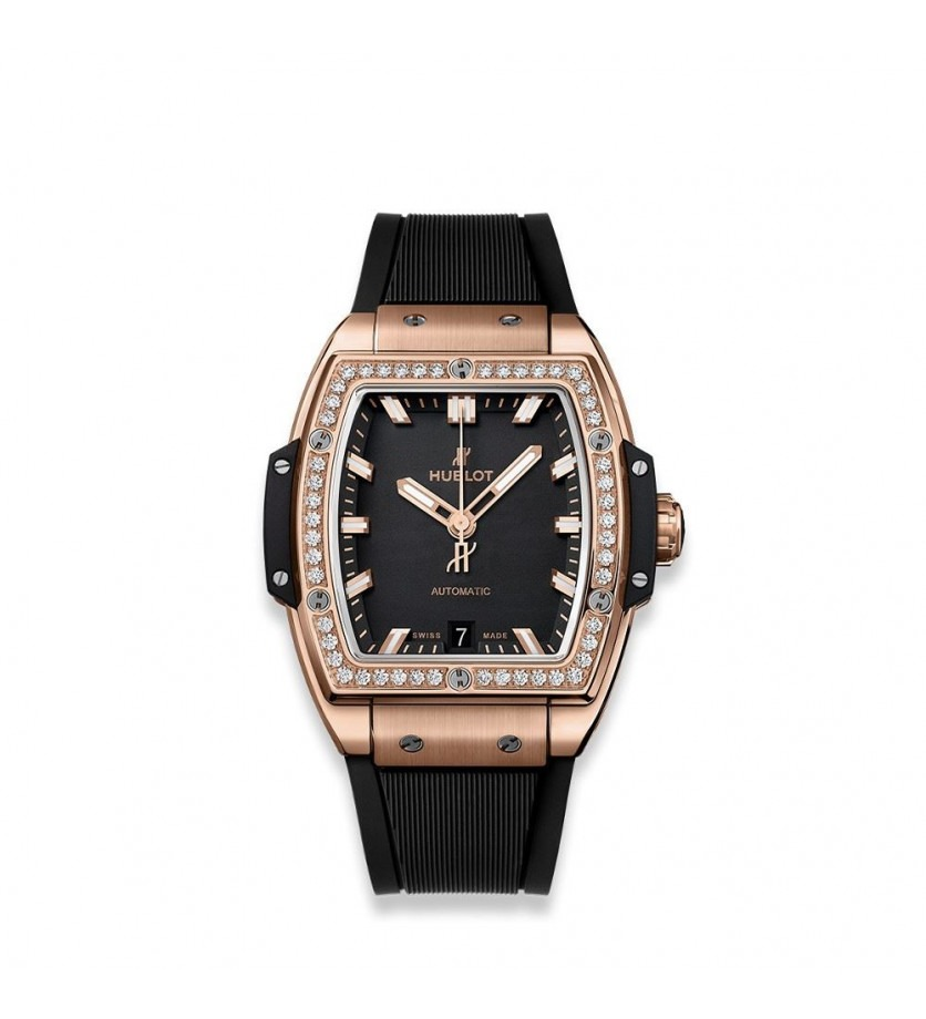 Montre HUBLOT Spirit of Big Bang King Gold Diamonds 39 mm