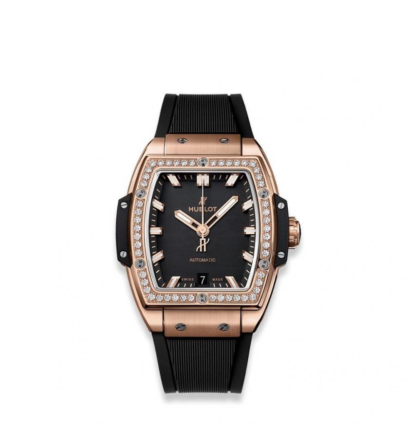 Montre Spirit of Big Bang King Gold Diamonds 39 mm