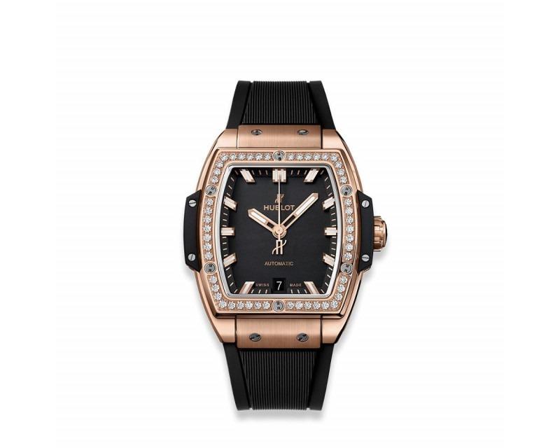Montre HUBLOT Spirit of Big Bang King Gold Diamonds 39 mm