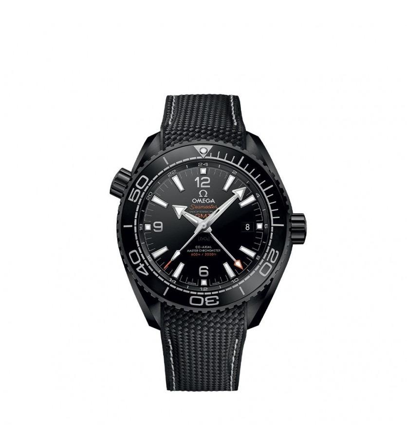 Montre OMEGA Seamaster Planet Ocean 600M Deep Black GMT 45,5 mm