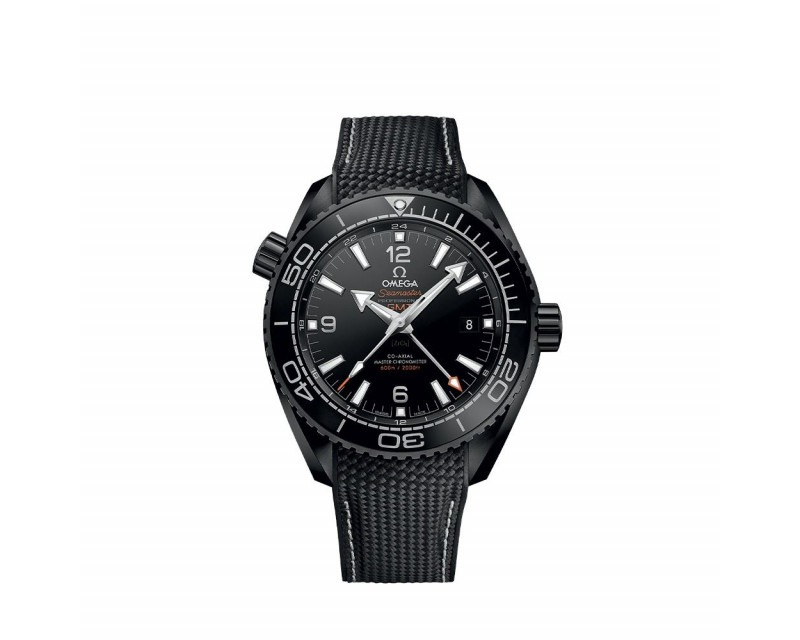 Montre OMEGA Seamaster Planet Ocean 600M Deep Black GMT 45,5 mm