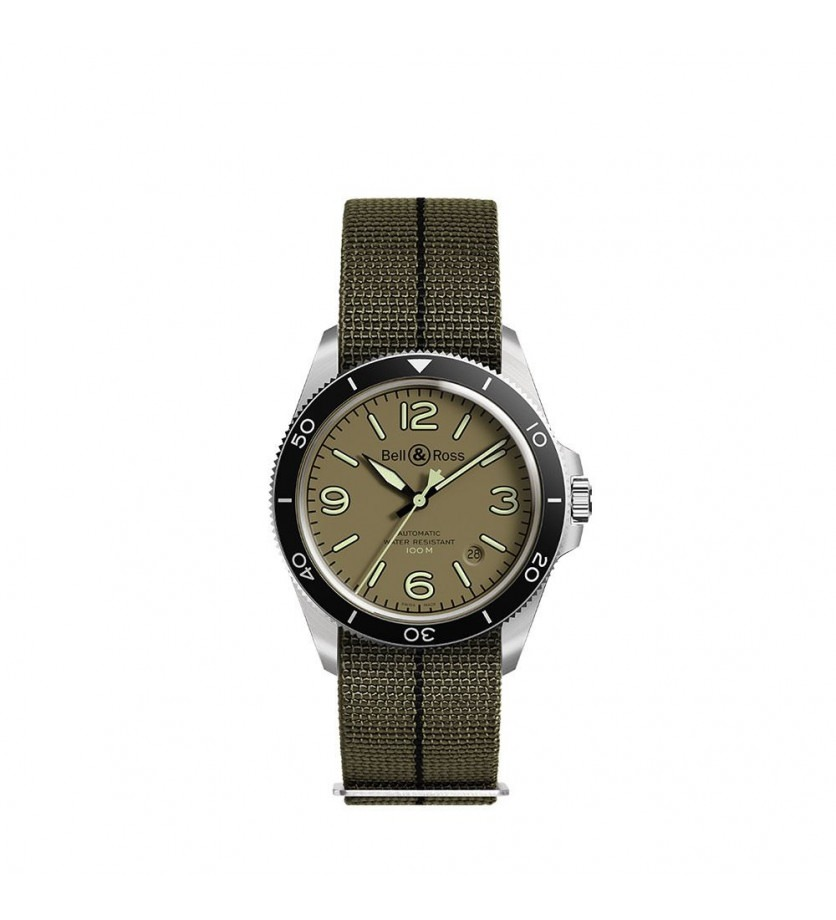 Montre BELL & ROSS BRV2 92 Military Green