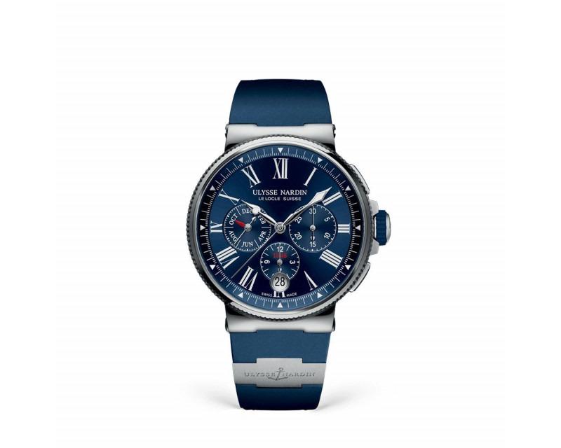 Montre ULYSSE NARDIN Marine Chronographe calendrier annuel