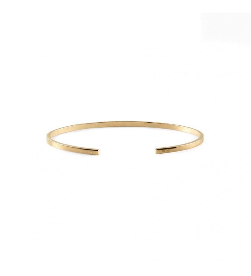 Bracelet Ruban 7 Grammes or jaune , taille S