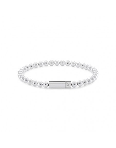 Bracelet Beads 25 Grammes argent lisse poli